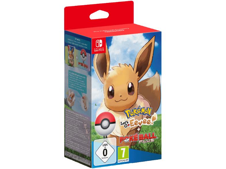 Nintendo Switch Pokémon Let's Go Eevee! + Poké Ball Plus