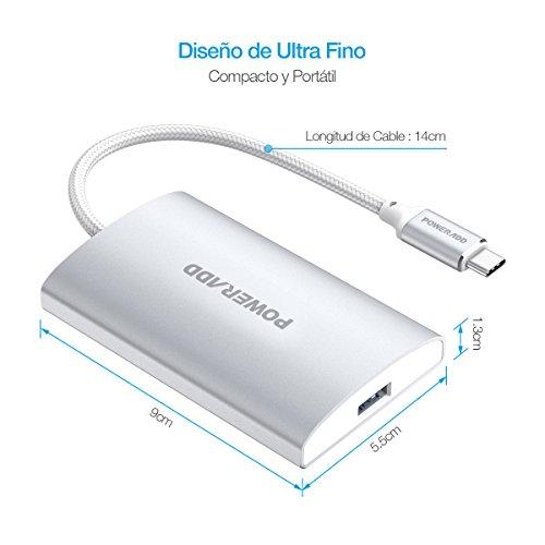 Hub USB 3.0 4 Puerto de Type-C Alta Velocidad A  5.99€