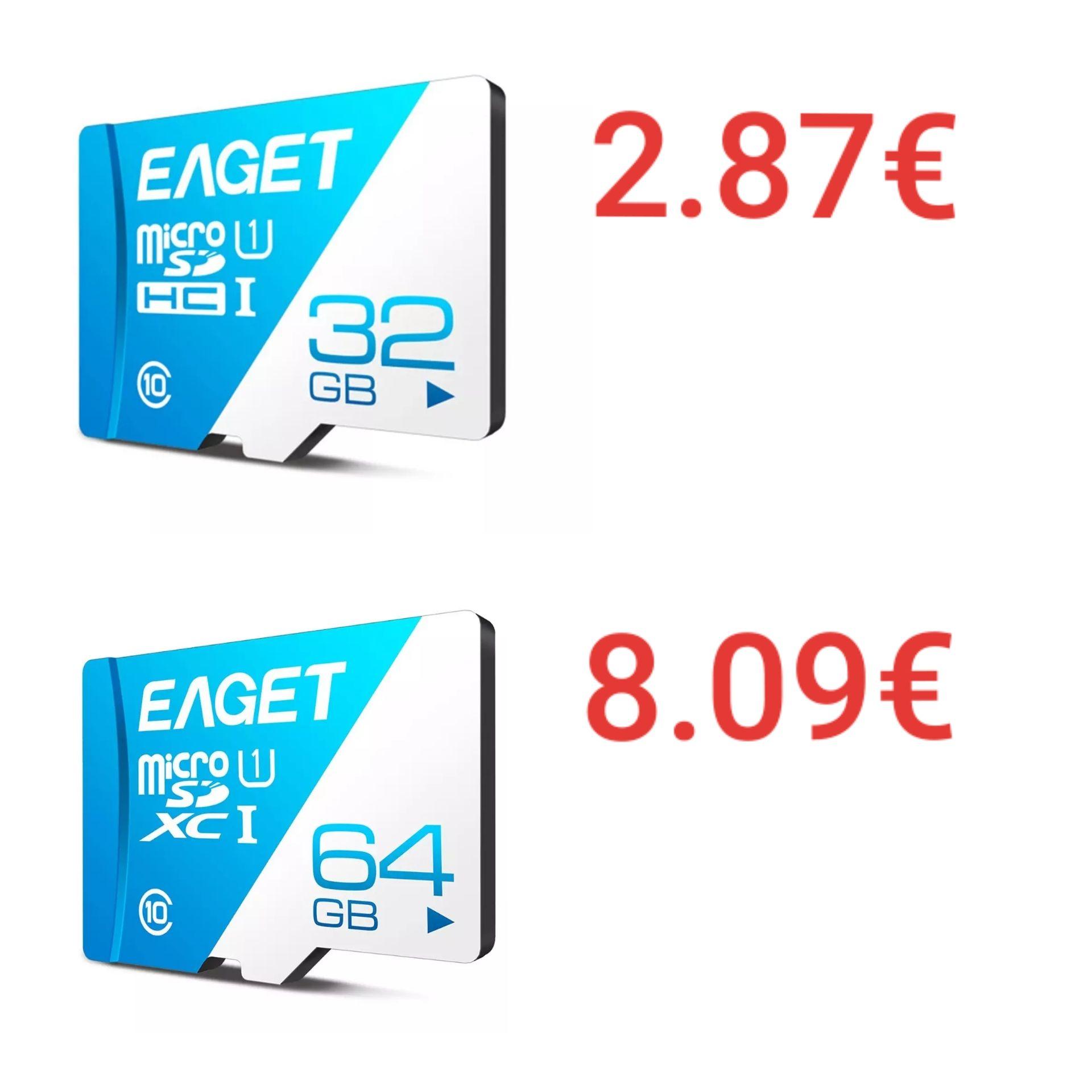 Eaget micro sd  [32Gb y 64Gb]