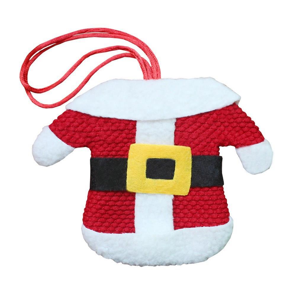 Decoración navideña para cubiertos