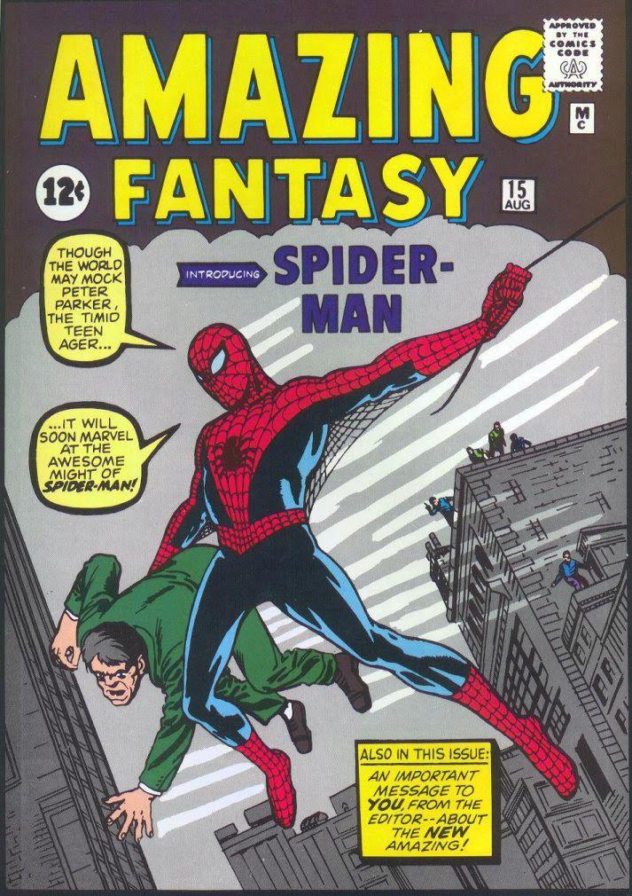Amazing Fantasy 1962 - Gratis online (En inglés)