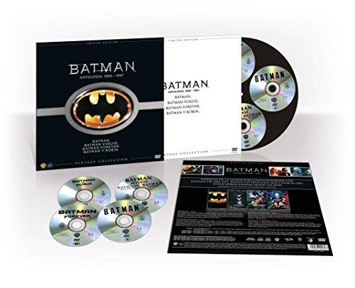 Batman Colección Vintage (Funda Vinilo) DVD y BluRay