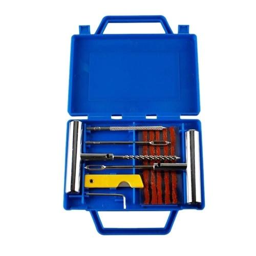 Kit de herramientas de reparación de neumáticos de emergencia