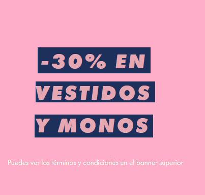 -30% en Vestidos y Monos para mujer en ASOS