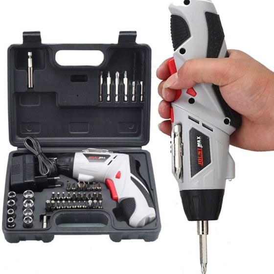 Destornillador eléctrico - Maletín y accesorios.