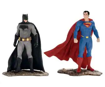 Figuras realistas: Batman y Superman, DC CÓMICS a mitad de precio