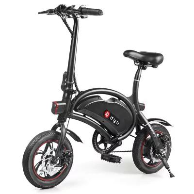 Bici eléctrica DYU D2 con pedales