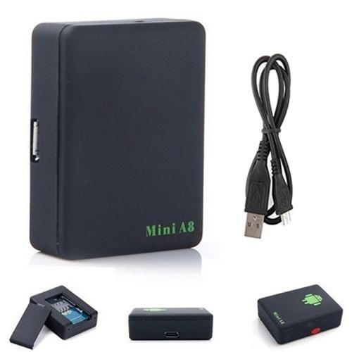 Dispositivo localizador de seguimiento en tiempo real del mini GPS Tracker A8