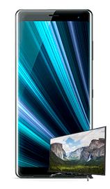 """Compra Sony Xz3 y de regalo Sony Bravia 50"""" KDL-50WF660"""