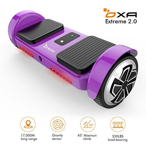 Hoverboard Scooter eléctrico de dos ruedas con equilibrio automático 50% de descuento