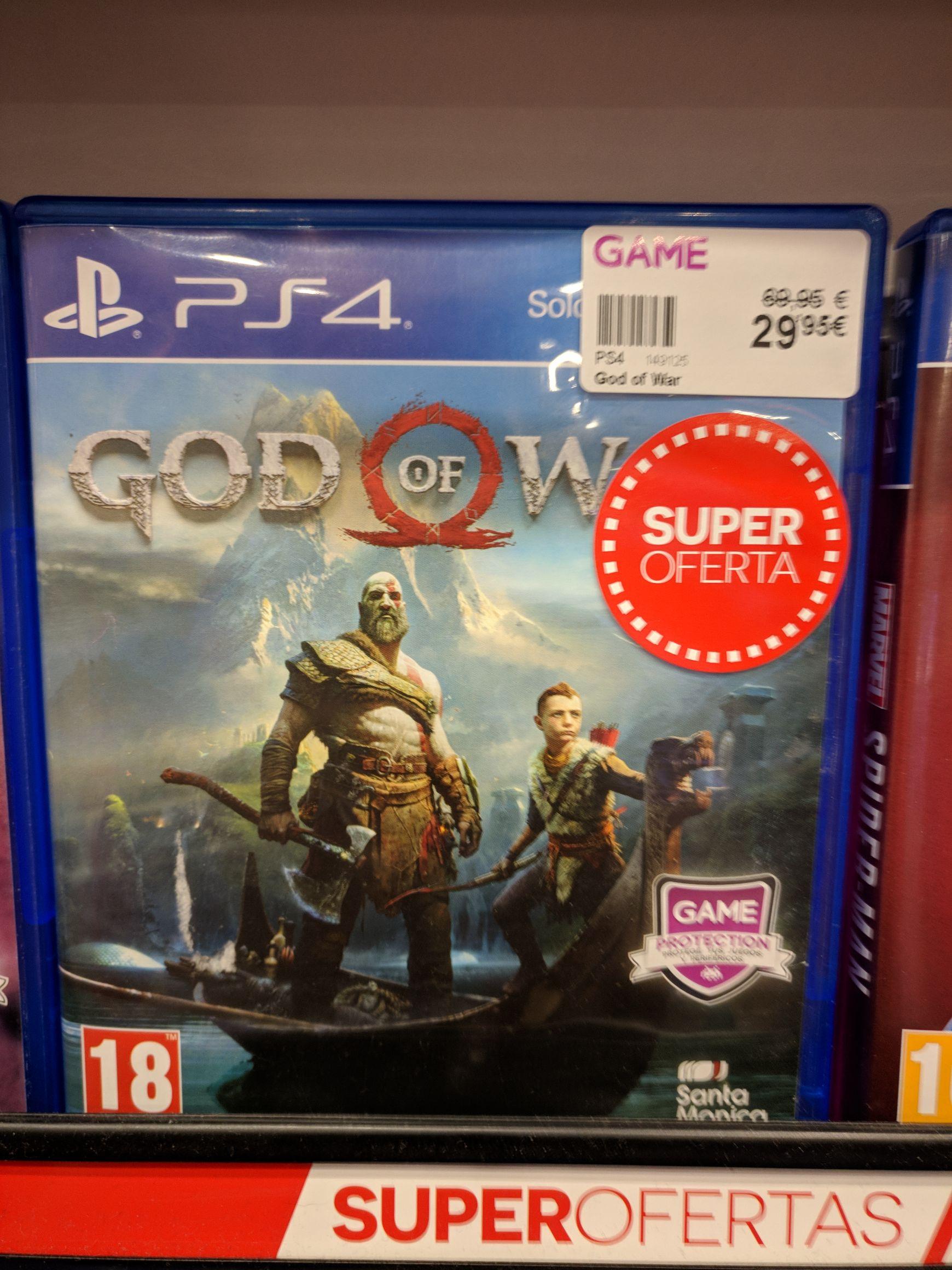 God of War en tiendas Game