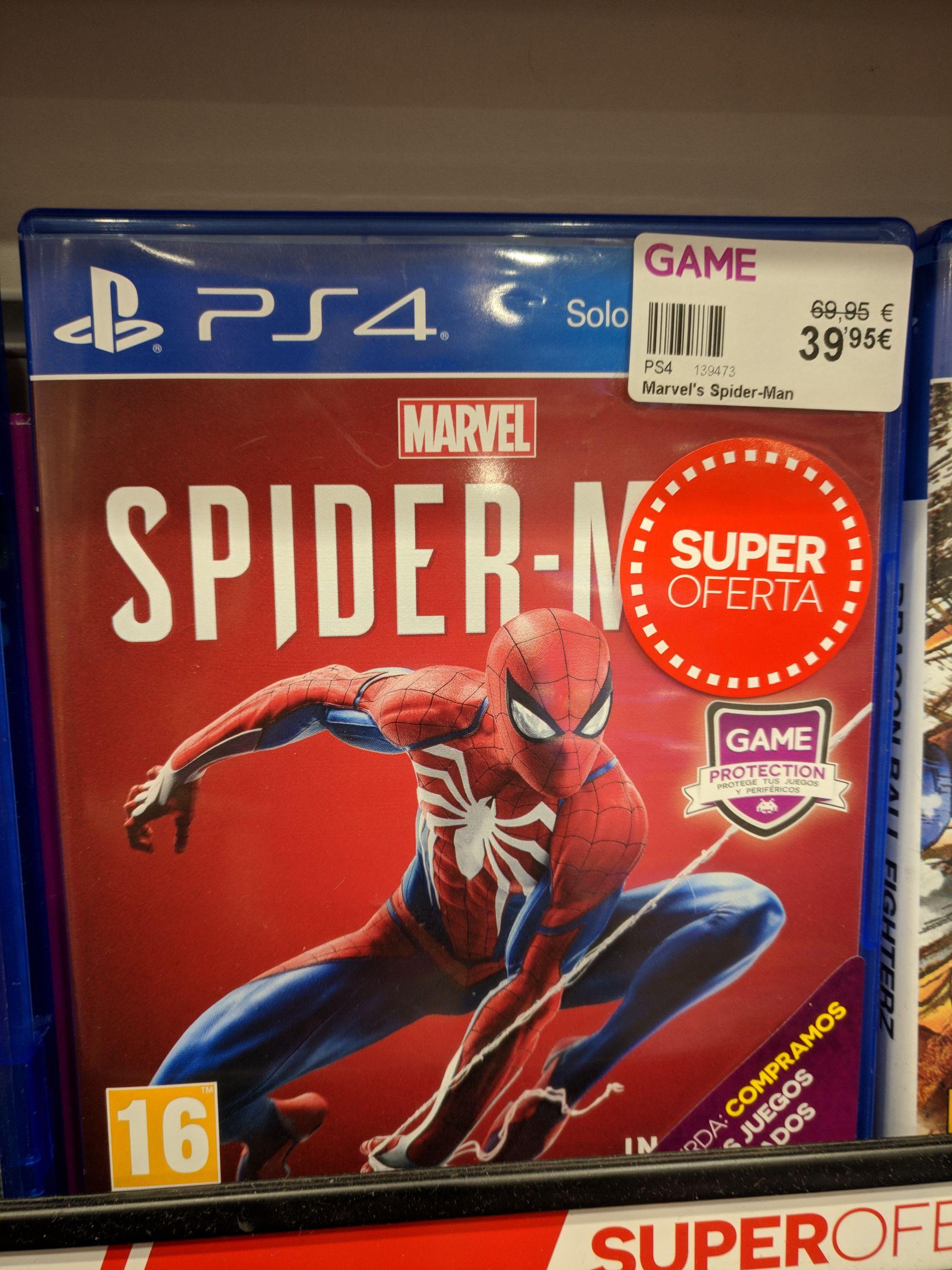Marvels Spider-man en tiendas Game PS4