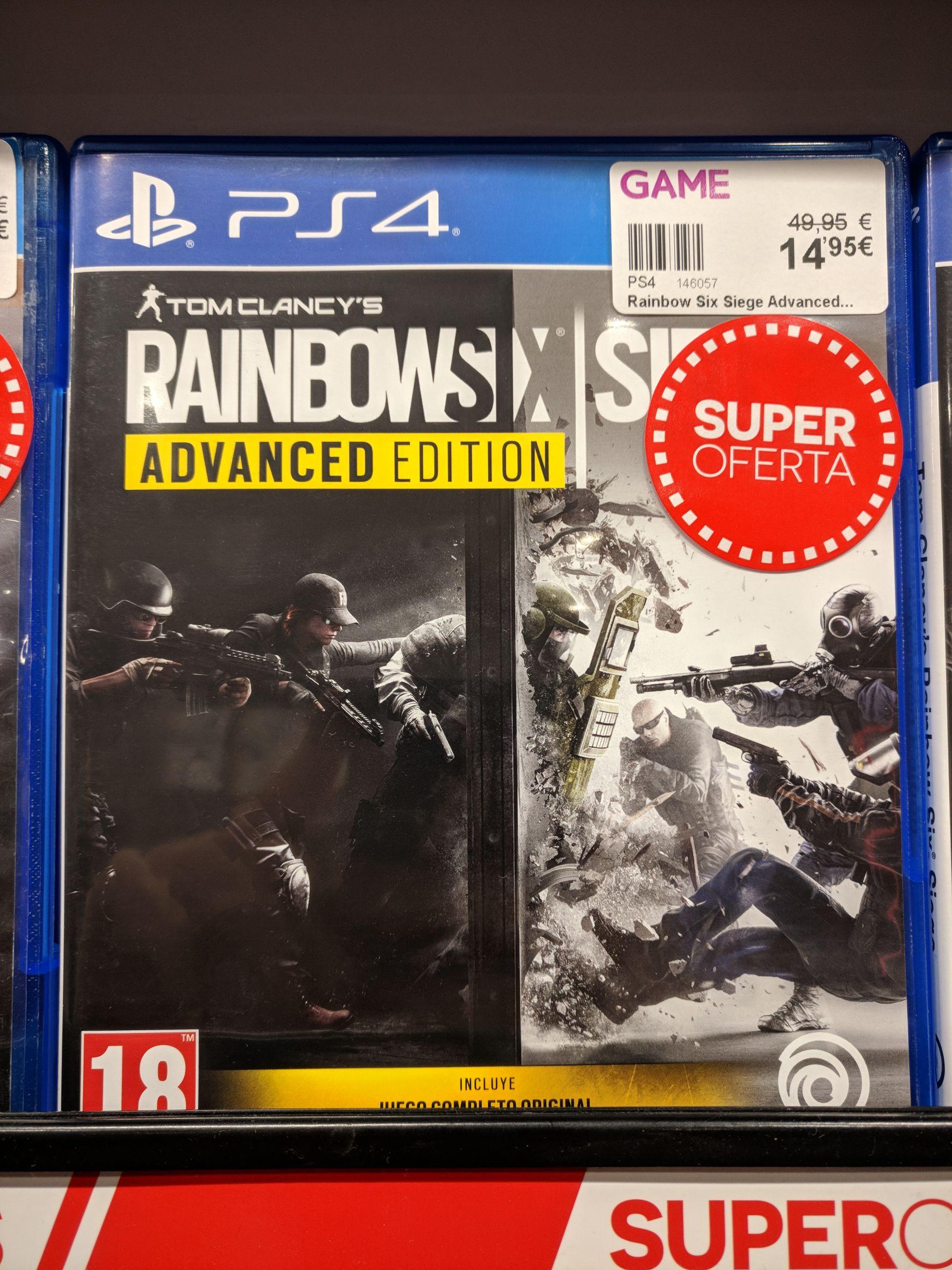 Rainbow Six Siege Advanced Edition PS4 Game