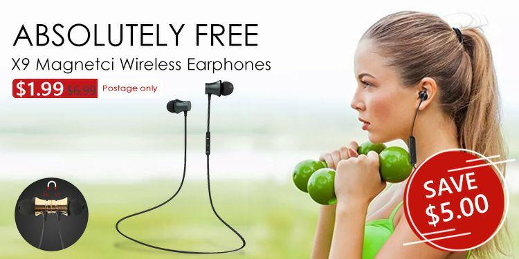 Auriculares magnéticos Bluetooth 4.1 con cancelación de ruido