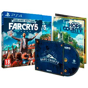 Far Cry 5 Deluxe PS4 solo 19€ (recoger en tienda)