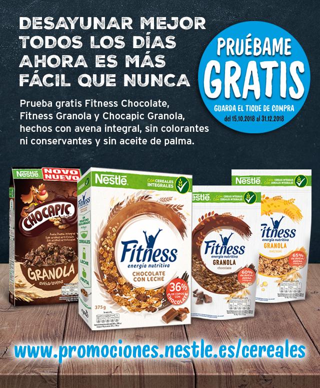Prueba GRATIS Cereales Nestlé [Reembolso]