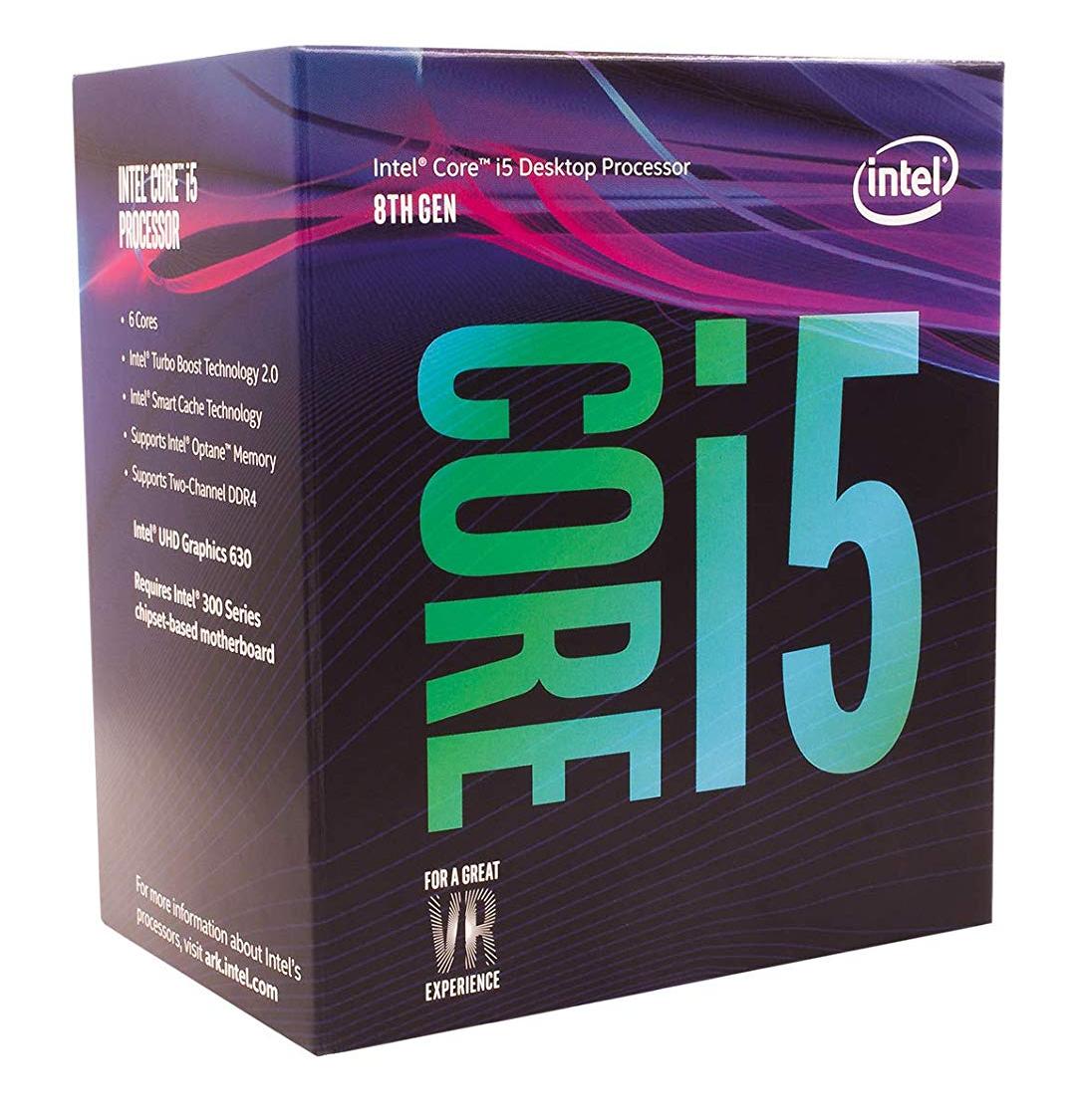 Intel i5 8400 Amazon USA, precio de tasas y envío incluído!