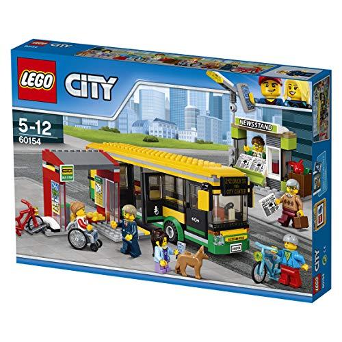 LEGO City Town - Estación de autobuses (60154)