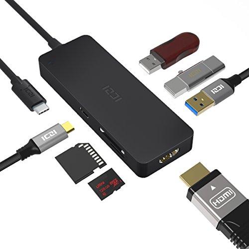 Hub 7 en 1 3x USB 3.0 solo 12€