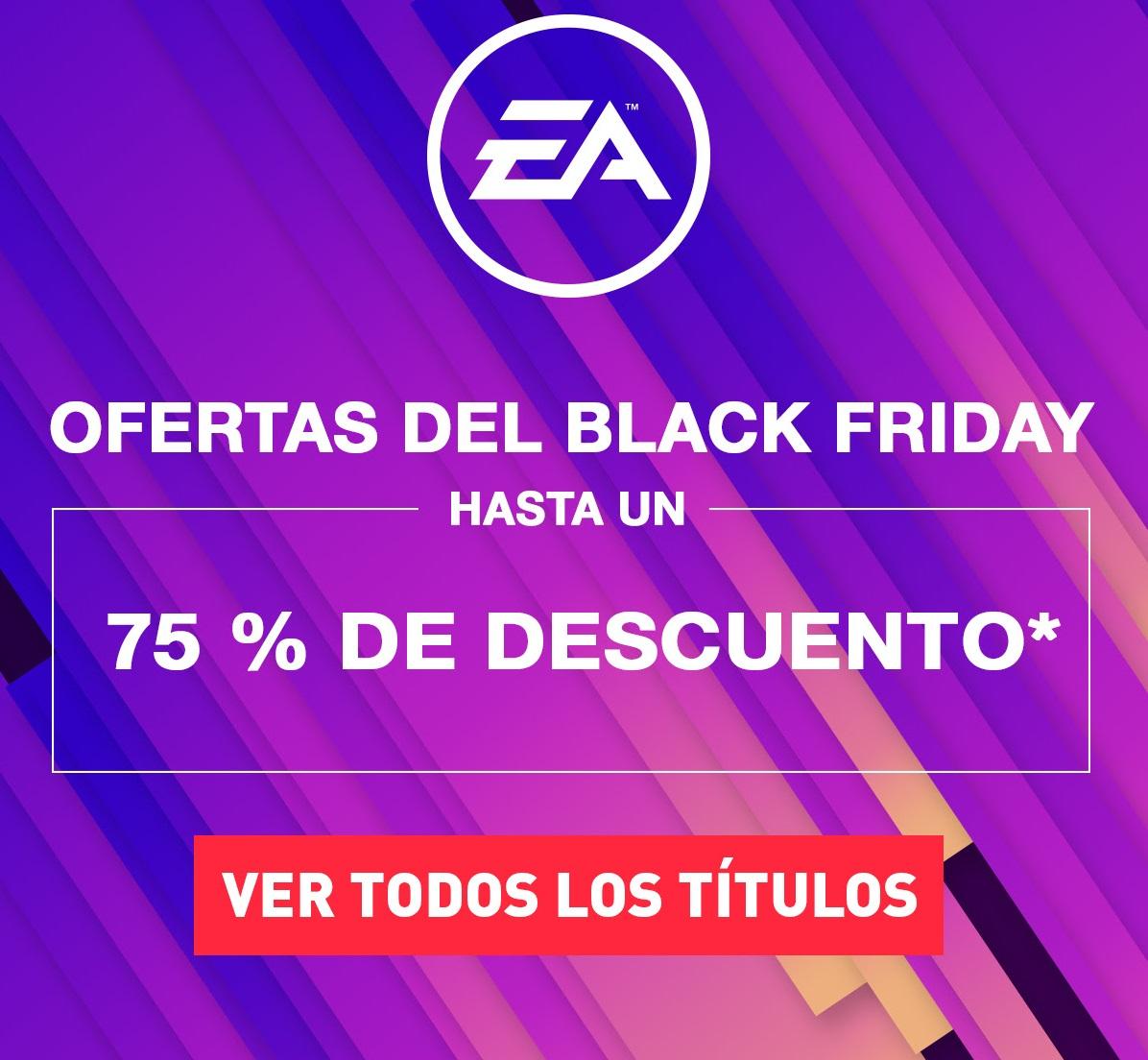 Descuentos de EA hasta el 75% (PS4, Xbox One)