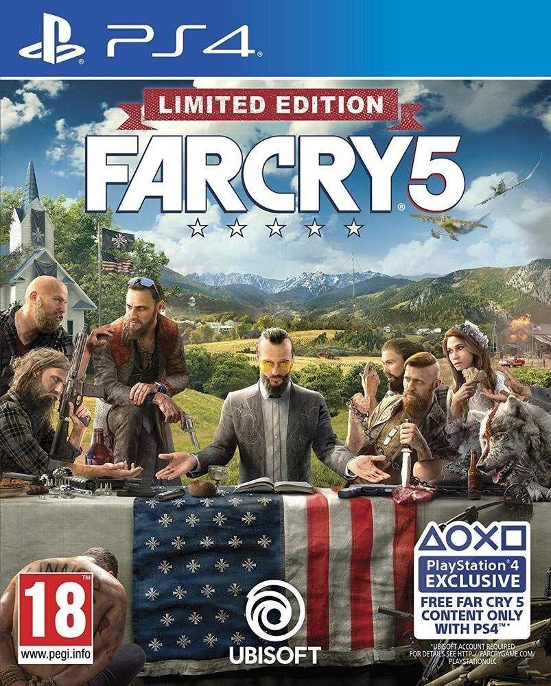 Far Cry 5 - Edición Limited (PS4 & XBOX ONE)