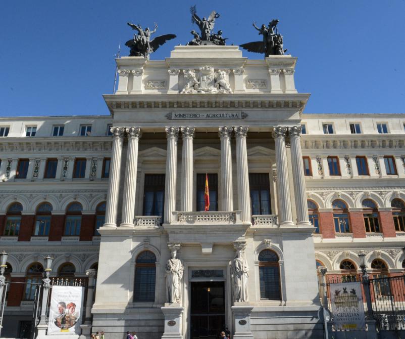 Entrada gratuita al Palacio de Fomento sede del Ministerio de Agricultura, Pesca y Alimentación