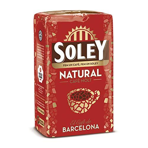 12 paquetes de Café Soley molido Natural, 250 gramos