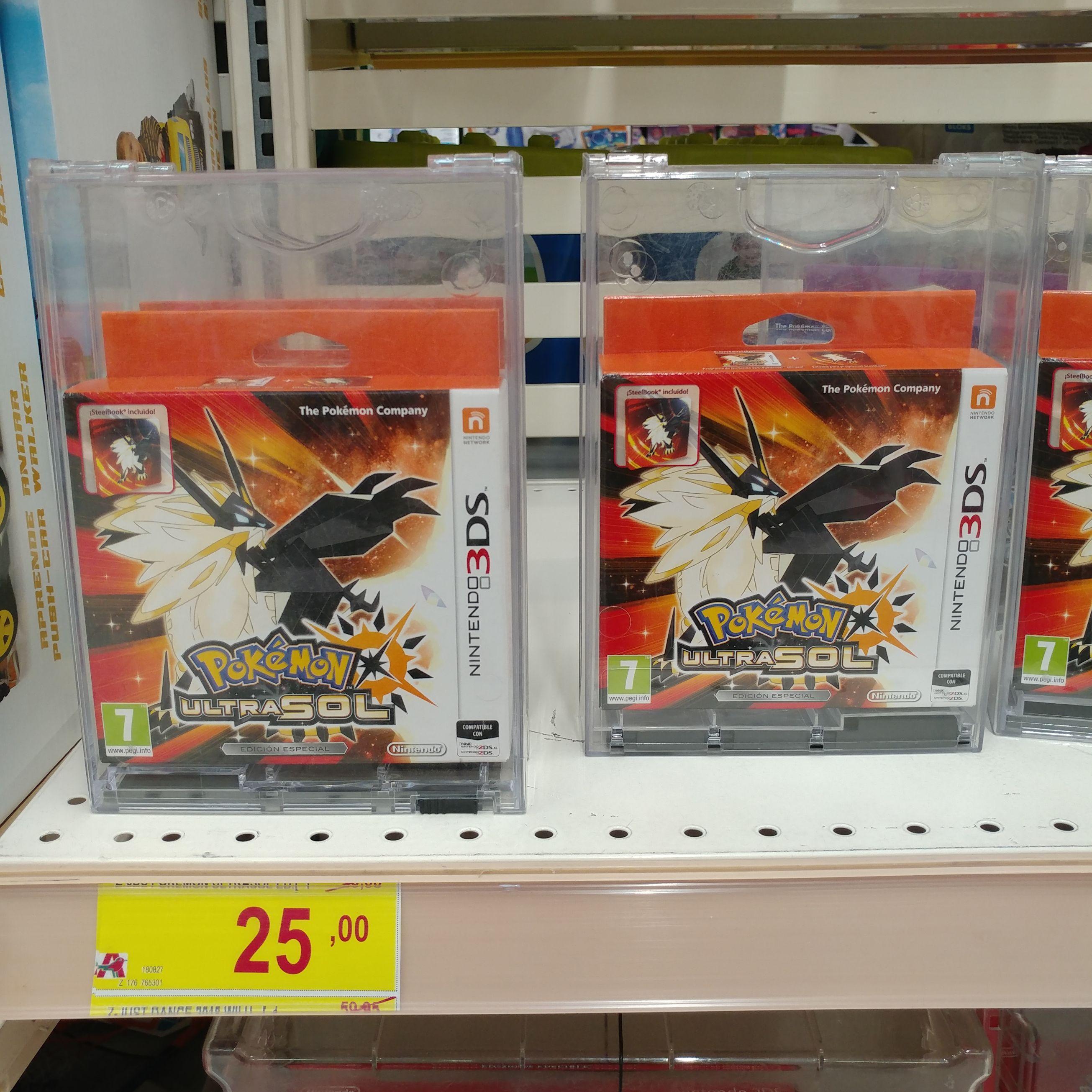Pokemon UltraSol Ed. Especial (Alcampo de La Cañada)