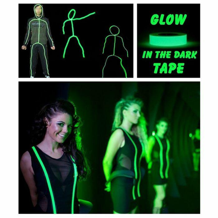 5 metros de cinta adhesiva fluorescenre
