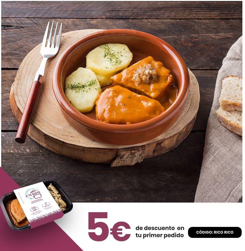 5€ Descuento en comida casera a domicilio