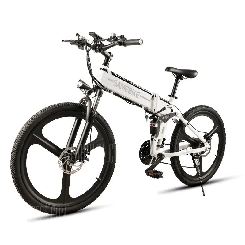 Bicicleta eléctrica ciclomotor Samebike LO26 Smart Bicicleta  plegable