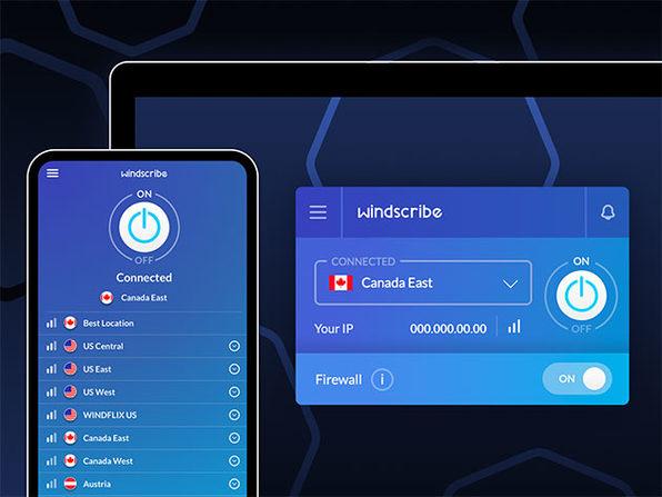 VPN Windscribe para siempre por 52 €, un año por 10 € y 3 años por 21 €