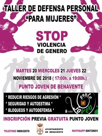 Taller de defensa personal para mujeres y 7 actividades para hacer en Zamora