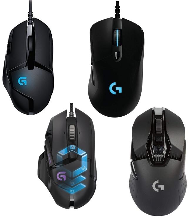 Ratones Logitech en oferta G402 G403 G502 y G900