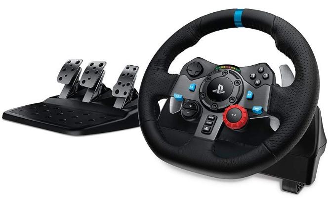 Volante Logitech G29 con pedales PS4 y PC