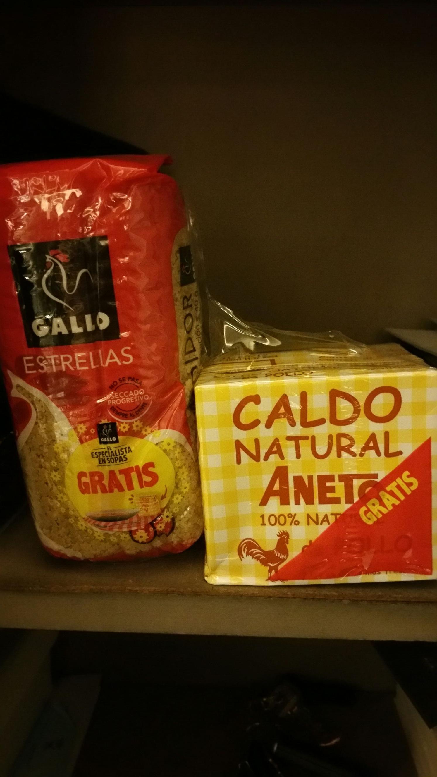 Caldo ANETO de Pollo GRATIS