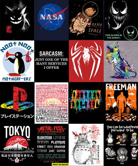 Camisetas Qwertee por 4€ con Diseño Sorpresa