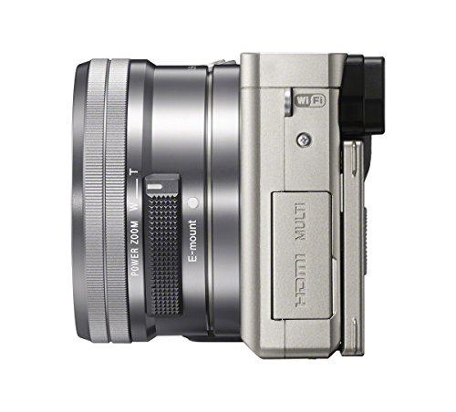 "Sony A6000 - Cámara EVIL de 24 Mp (pantalla LCD 3""  Kit cuerpo con objetivo 16 - 50 mm"