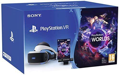 PS VR + Camera + VR Worlds - PlayStation 4