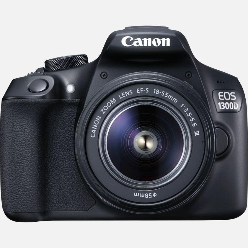 Canon EOS 1300D + Objetivo 18-55 mm III