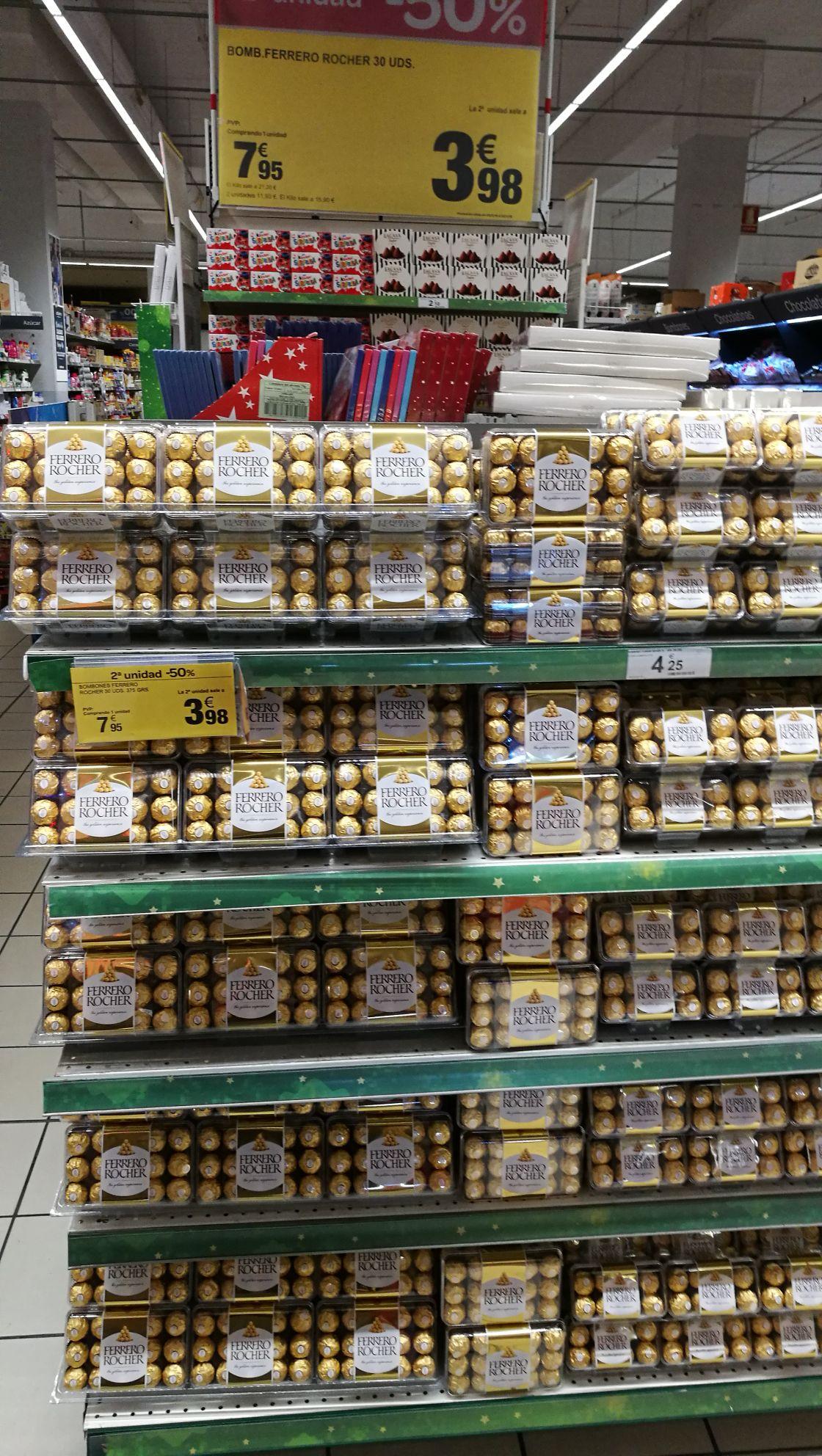 60 bombones Ferrero Rocher