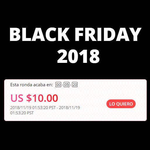 Cupones selección y de Aliexpress de $2, $5 y $10 para el Black Friday y Cyber Monday