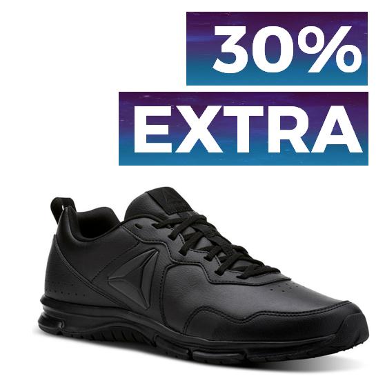 30% + 30% EXTRA en TODO Reebok