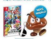 Super Smash Bros. Ultimate + Figura Goomba + Llavero Smash