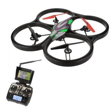Quadricóptero con cámara HD y monitor FPV