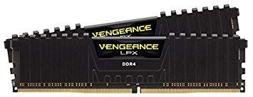 Corsair Vengeance 2 x 8 GB, DDR4, 3000 MHz