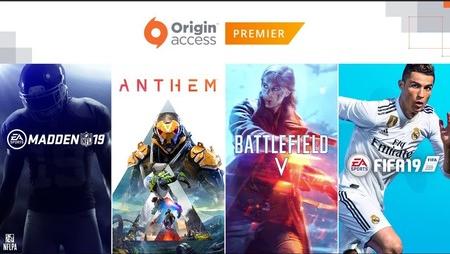 Origin Access PREMIER o BASIC ( FIFA19 + Battlefield 5 + Madden 19 + Anthem.....)