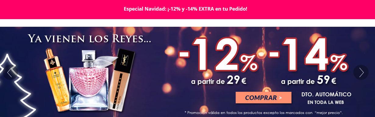 Paco Perfumerías: Dto. entre 12%-14% en toda la web*