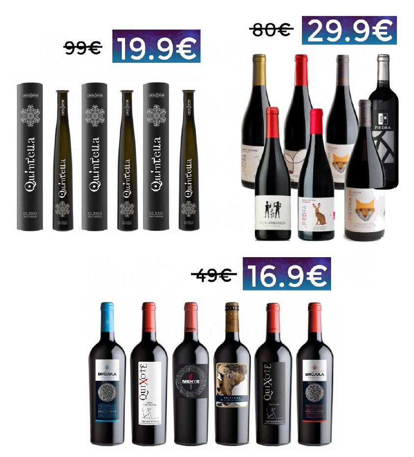 Chollazos en vino en eBay