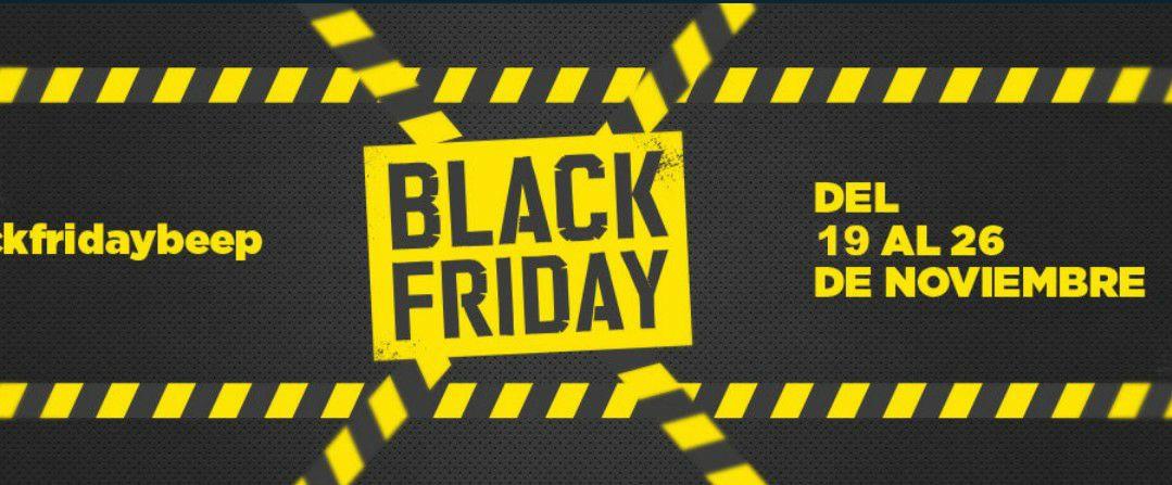 Black Friday BEEP descuentos en electronica